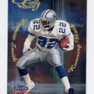 1999 Fleer Focus Football Glimmer Men #8R Emmitt Smith - Dallas Cowboys