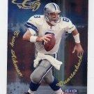 1999 Fleer Focus Football Glimmer Men #5R Troy Aikman - Dallas Cowboys
