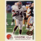 1999 Fleer Focus Football #146 Madre Hill RC - Cleveland Browns /2500