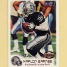 1999 Fleer Focus Football #137 Marlon Barnes RC - Oakland Raiders /2500