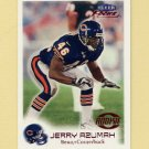 1999 Fleer Focus Football #136 Jerry Azumah RC - Chicago Bears /2500