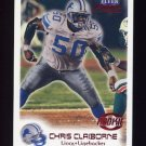 1999 Fleer Focus Football #103 Chris Claiborne RC - Detroit Lions