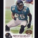 1999 Fleer Focus Football #102 Fernando Bryant RC - Jacksonville Jaguars