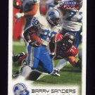 1999 Fleer Focus Football #096 Barry Sanders - Detroit Lions