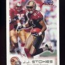 1999 Fleer Focus Football #094 J.J. Stokes - San Francisco 49ers