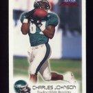 1999 Fleer Focus Football #075 Charles Johnson - Philadelphia Eagles