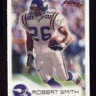 1999 Fleer Focus Football #051 Robert Smith - Minnesota Vikings