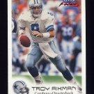1999 Fleer Focus Football #048 Troy Aikman - Dallas Cowboys