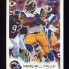 1999 Fleer Focus Football #047 Marshall Faulk - St. Louis Rams