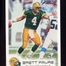 1999 Fleer Focus Football #044 Brett Favre - Green Bay Packers