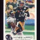 1999 Fleer Focus Football #042 Hines Ward - Pittsburgh Steelers
