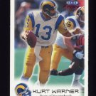 1999 Fleer Focus Football #040 Kurt Warner RC - St. Louis Rams