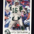 1999 Fleer Focus Football #019 Vinny Testaverde - New York Jets