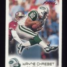 1999 Fleer Focus Football #006 Wayne Chrebet - New York Jets