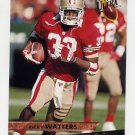 1993 Ultra Football #443 Ricky Watters - San Francisco 49ers