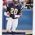 1993 Ultra Football #416 Natrone Means RC - San Diego Chargers