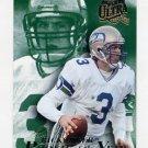 1994 Ultra Football Rick Mirer #9 - Seattle Seahawks