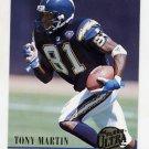 1994 Ultra Football #490 Tony Martin - San Diego Chargers
