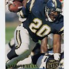 1994 Ultra Football #268 Natrone Means - San Diego Chargers