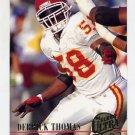 1994 Ultra Football #148 Derrick Thomas - Kansas City Chiefs