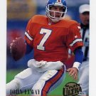 1994 Ultra Football #086 John Elway - Denver Broncos
