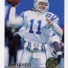 1994 Ultra Football #014 Jeff George - Atlanta Falcons