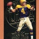 1995 Ultra Football Gold Medallion #112 Brett Favre - Green Bay Packers