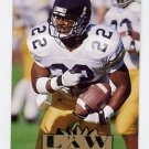 1995 Ultra Football #205 Ty Law RC - New England Patriots