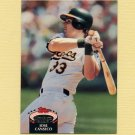 1992 Stadium Club Baseball #370 Jose Canseco - Oakland A's