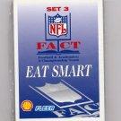 1995 FACT Fleer Shell Football Sealed Complete Set 3 Card #37-54 / John Elway