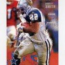 1995 FACT Fleer Shell Football #100 Emmitt Smith - Dallas Cowboys ExMt