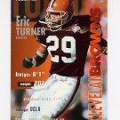 1995 FACT Fleer Shell Football #099 Eric Turner - Cleveland Browns