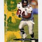 1995 FACT Fleer Shell Football #066 Craig Heyward - Atlanta Falcons NM-M