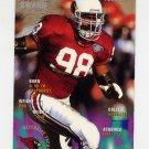 1995 FACT Fleer Shell Football #065 Eric Swann - Arizona Cardinals Ex