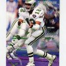 1995 FACT Fleer Shell Football #057 Randall Cunningham - Philadelphia Eagles ExMt