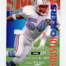 1995 FACT Fleer Shell Football #045 Al Smith - Houston Oilers