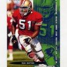 1995 FACT Fleer Shell Football #029 Ken Norton - San Francisco 49ers