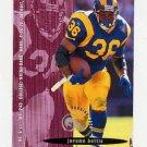 1995 FACT Fleer Shell Football #027 Jerome Bettis - St. Louis Rams