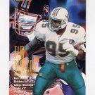 1995 FACT Fleer Shell Football #018 Tim Bowens - Miami Dolphins NM-M