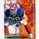 1995 FACT Fleer Shell Football #005 Pete Metzelaars - Buffalo Bills ExMt