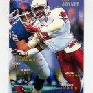 1995 FACT Fleer Shell Football #002 Seth Joyner - Arizona Cardinals ExMt