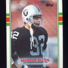 1989 Topps Football #267 Marcus Allen - Los Angeles Raiders