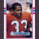 1989 Topps Football #240 Tony Dorsett - Denver Broncos