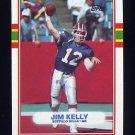 1989 Topps Football #046 Jim Kelly - Buffalo Bills