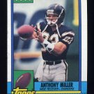 1990 Topps Football #390 Anthony Miller - San Diego Chargers