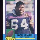 1990 Topps Football #104 Randall McDaniel - Minnesota Vikings
