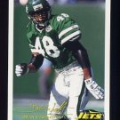 1994 FACT Fleer Shell Football #82 Brian Washington - New York Jets
