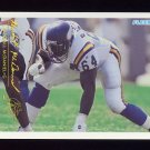 1994 FACT Fleer Shell Football #78 Randall McDaniel - Minnesota Vikings