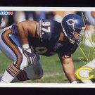 1994 FACT Fleer Shell Football #34 Chris Zorich - Chicago Bears