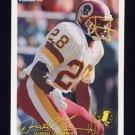 1994 FACT Fleer Shell Football #30 Darrell Green - Washington Redskins